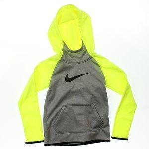 Nike Therma Training Full-Zip Hoodie Grey Volt NWD